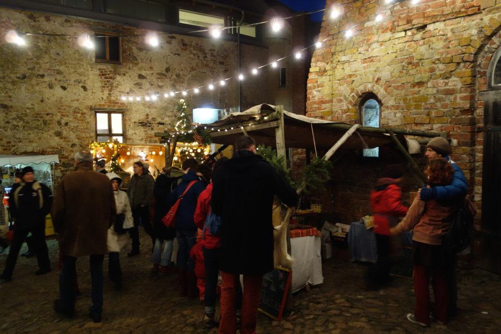 Adventsmarkt Burg Klempenow
