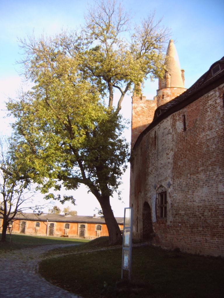 Burg Klempenow, Stall