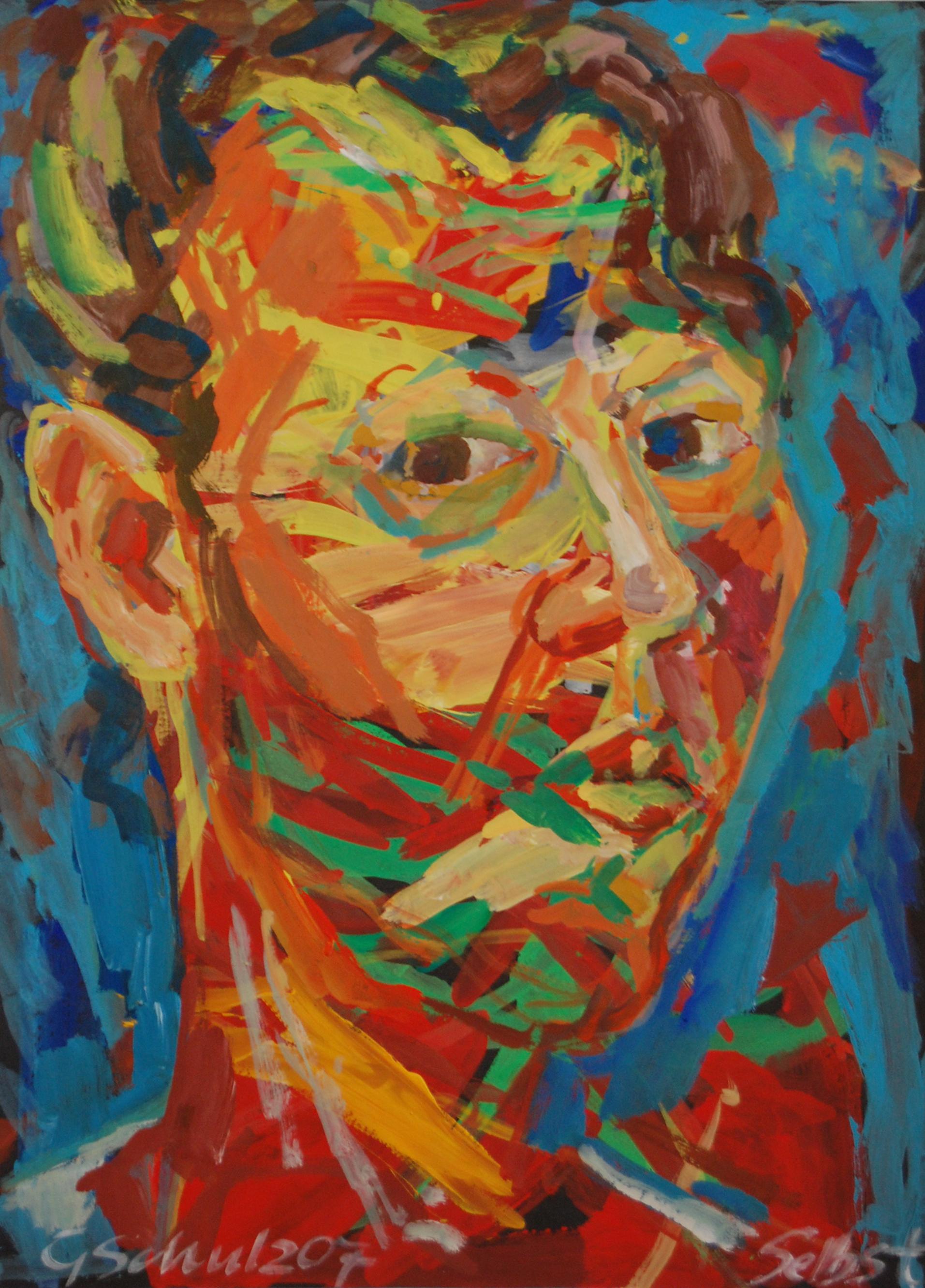 Ausstellung 26.04. - 31.05.2015 | Gabriele Schulz | ...in das lautlose Wasser geworfen | Malerei, Handzeichnungen