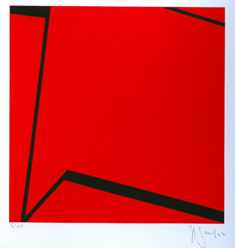 Ausstellung 03.07. - 28.08.2010 | Helmut Senf | Akryl- und Emaillebilder