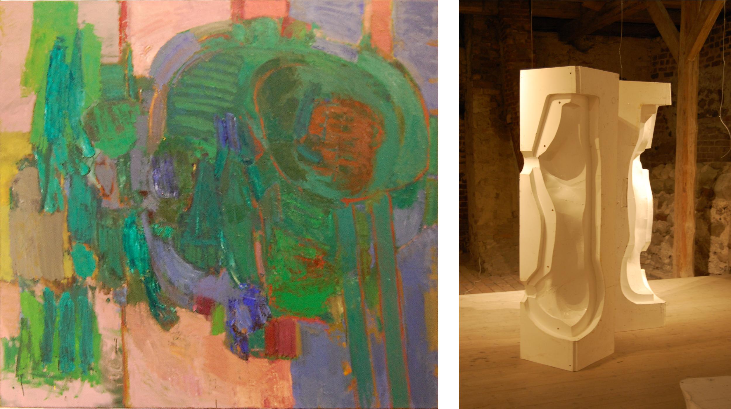 Ausstellung 05.08. - 17.09.2017 | Jörg-Uwe Jacob und Reinhard Buch | Malerei, Plastik