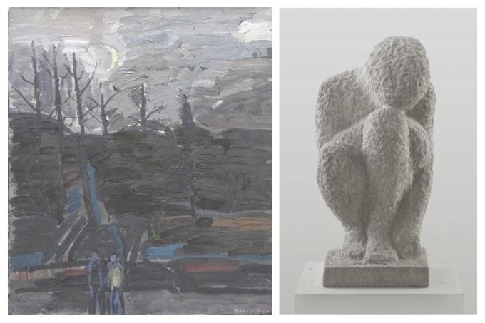 Ausstellung 16.08. - 27.09.2020 | Klaus Roenspieß und Gertraude Bauer | Malerei und Plastik