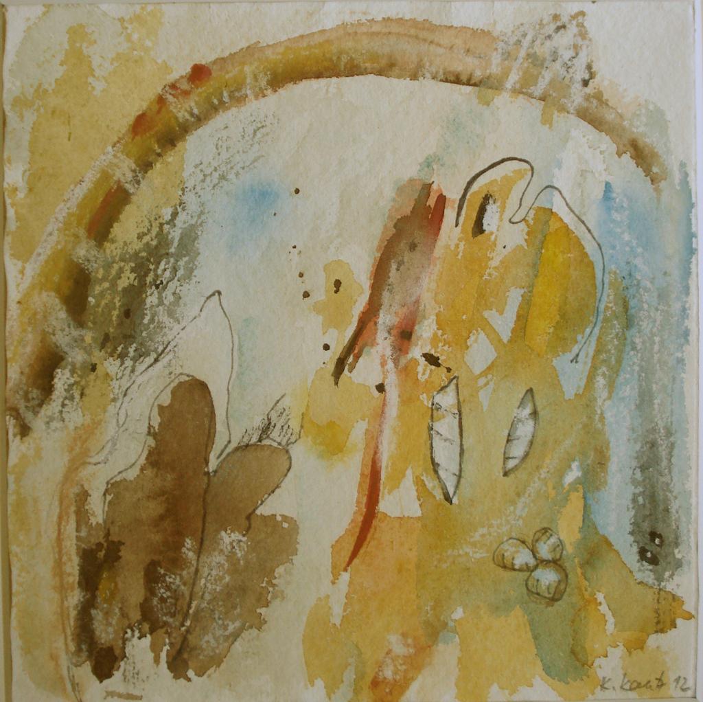 Ausstellung 07.06. - 12.07.2015 | Kristine Kautz | geschöpft - kaschiert - bedruckt | Malerei, Installation, Skulptur