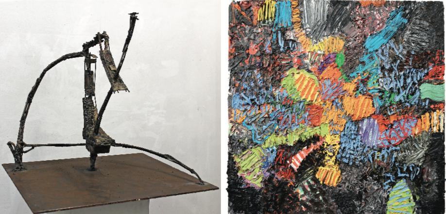 Ausstellung 17.08. - 06.10.2019 | Michael Kain und Henry Stöcker | Handzeichnung, Malerei, Skulptur