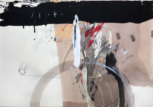Ausstellung 05.07. - 08.08.2020 | Nils Dicaz | Handzeichnung, Installation