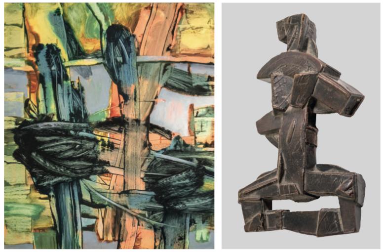 Ausstellung 17.05. - 28.06.2020 | Rainer Weber Osthaus und Sibylle Sommer | Handzeichnung, Malerei und Schmuck, Kleinplastik