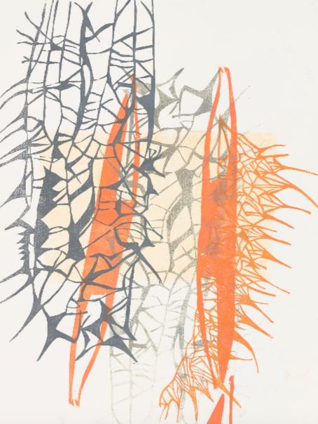 Ausstellung 29.06. - 11.08.2019 | Barbara Wetzel | Fibonaccis Krückstock | Handzeichnung, Holzschnitt, Skulptur