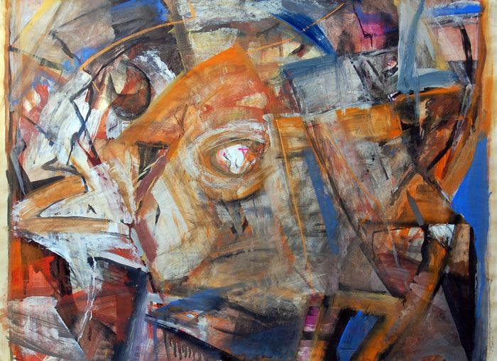 Ausstellung 04.07. - 02.08.2009 | Karlheinz Wenzel | Aus vollen Laden | Arbeiten auf Papier