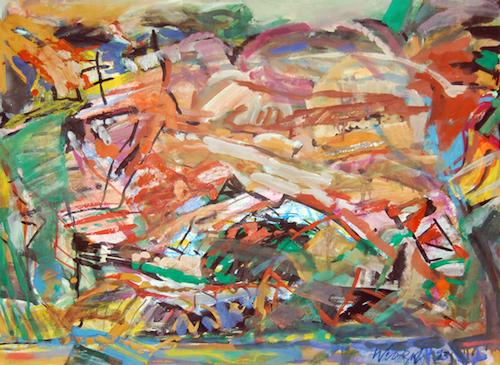 Ausstellung 17.06. - 30.07.2017 | Karlheinz Wenzel | Malerei