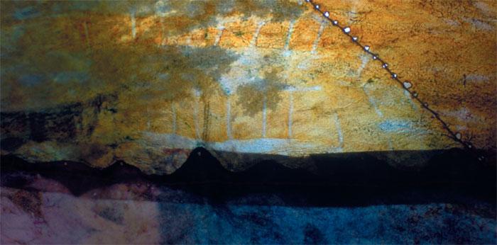 Ausstellung 23.05. - 28.06.2009 | Sabine Grundmann | Nichtsdestotrotz schweben die Vögel am Abend, so wie ich es träume | Textildesign