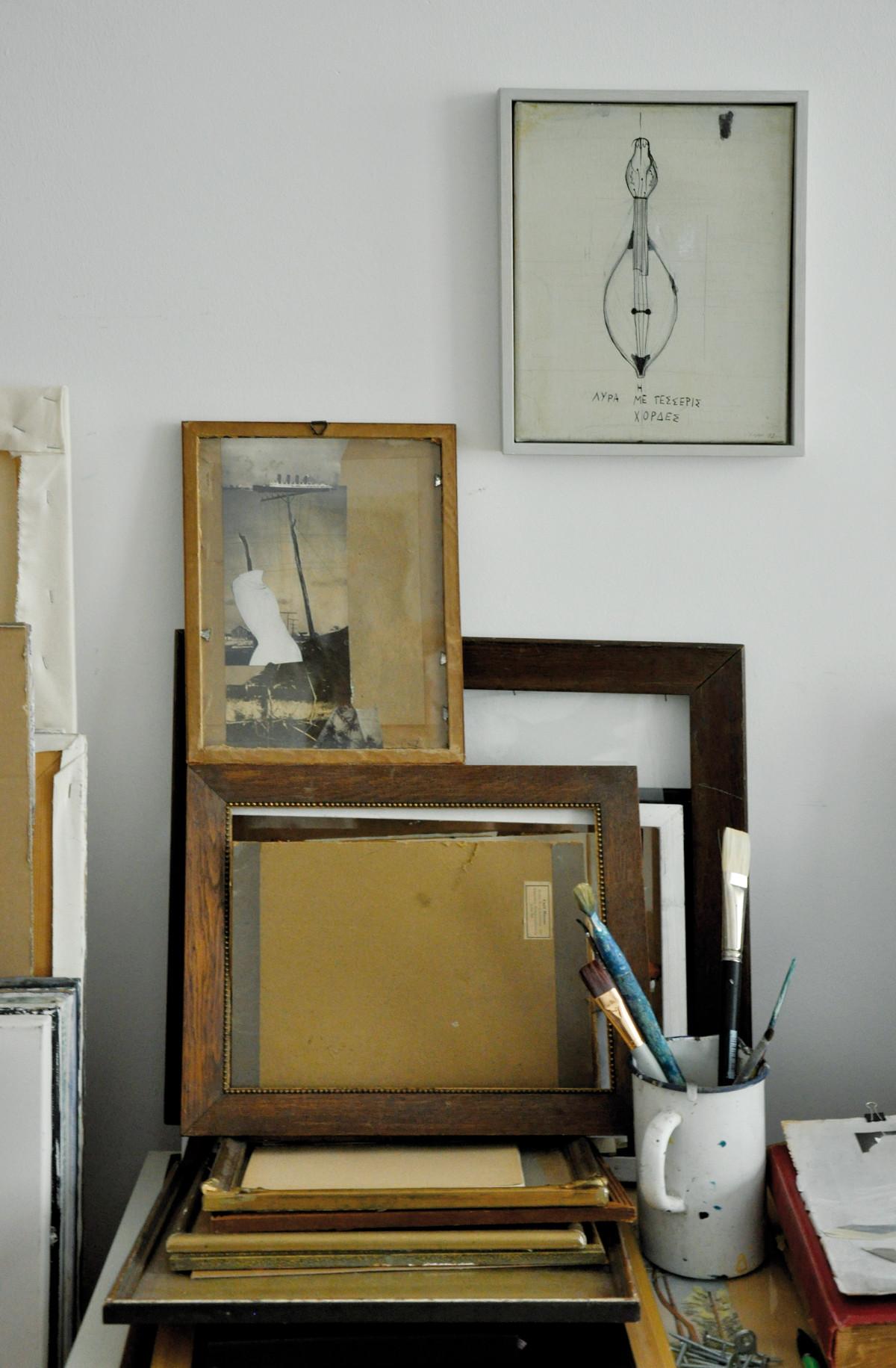 Ausstellung 30.04. - 23.05.2016 | Karsta Lipp und Susan Lipp | Manchmal gehen wir auch zum Hafen | Malerei, Zeichnung, Collage